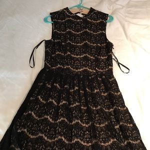 Brand new black lace dress Kohl's Juniors XL